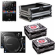 Pioneer DJM-S9 Mixer with (2) PLX1000 Turntables & Cases
