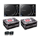 Pioneer PLX-1000 DJ Turntables with Cases & M44-7 Cartridges