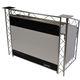 OPTI CS150 Control Station 5-ft Aluminum DJ Booth