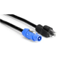 Hosa PWN-225 Neutrik powerCON to 5-15P 25ft Cable