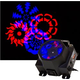 Solena Gobo Monster LED 8x3-Watt RGBW Gobo Projector