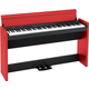 Korg LP380BKR 88-Key Digital Piano in Black & Red