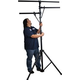 Solena LS-200 Lighting Stand with Dual Crossbars