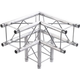 Global Truss SQ-F24-C30 3 Way 90 Degree F24 Corner