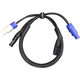 ADJ American DJ 3 Foot PowerCon 3-Pin DMX Combo Cable