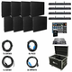 ADJ American DJ AV4X2 Video Panel System with 8 AV6s