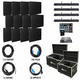 ADJ American DJ AV4X3 Video Panel System with 12 AV6s