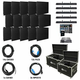 ADJ American DJ AV5X3 Video Panel System with 15 AV6s