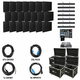 ADJ American DJ AV7X4 Video Panel System with 28 AV6s