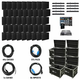 ADJ American DJ AV9X5 Video Panel System with 45 AV6s