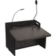 Anchor ACL8000U2BK Acclaim Lectern w/2 Receivers