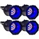 Solena Max Can 36 RGB 36x1-Watt LED Can Light 4 Pack