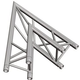 Global Truss TR-4086O 2-Way 45 Degree Apex Out Truss Corner