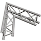 Global Truss TR-4087I 2-Way 60 Deg Corner Apex I +