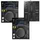 Pioneer XDJ-700 DJ Bundle with 2 Players and 1 DJM-350 Mixer