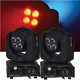 ColorKey Duo 64 8x8w Dual RGBW LED Moving Head Light 2-Pack