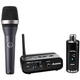 AKG D5 Dynamic Handheld Microphone with Alesis Miclink Wireless
