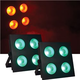 ColorKey StageBlinder COB TRI 4x30W RGB LED Wash 2-Pack
