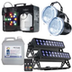 ADJ American DJ  Lighting Pack with Fog, Strobe, & LED UV Light