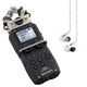 Zoom H5 Recorder w/ Shure SE215 Clear Earphones