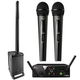 JBL EON ONE Portable PA System with AKG WMS40 Dual Wireless Microphone