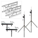 Global Truss ST-90 Crank Stand with F24 10-Foot Truss Pack