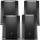 JBL PRX815W & PRX818XLFW Dual Powered Speakers Bundle