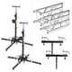 Global Truss ST-157 Crank Stand with F34 10-Foot Truss Pack