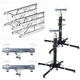 Global Truss ST-180 Crank Stand with F34 10-Foot Truss Pack
