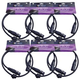 ColorKey 3 Pin 5 Ft DMX Lighting Cable 6 Pack
