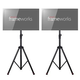 Gator LCD Video Monitor Tripod Stand Dual Pack