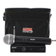 Gemini VHF-01M Wireless Handheld Mic with Gator Bag