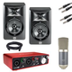 Studio Bundle with Focusrite Scarlett 2i2 and JBL LSR305
