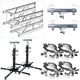 Global Truss ST-180 Crank Stands with 13-Feet of F34 Truss and Clamps