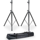 Accu-Stand SPSX2B Dual Speaker Stand Set with Carry Bag