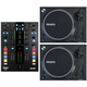 Mixars DUO DJ Mixer for Serato with (2) STA Turntables
