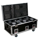 Elation VOL113 Charging Road Case for Six Volt Q5E