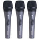 Sennheiser e835-S Dynamic Switched Microphone 3-Pack