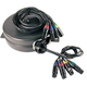 Stage Ninja XLR4-25-S 25Ft Retractable Quad XLR