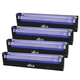 Chauvet NV-F18 18-Inch UV Black Light 4 Pack