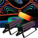 Solena Max Bar 60 UV 60-Watt LED Black Light 2 Pack