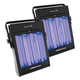ADJ American DJ UV Panel HP 160-Watt Black Light 2 Pack