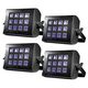 ADJ American DJ UV Flood 36 DMX 36-Watt Black Light 4-Pack