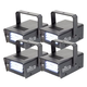 Chauvet Mini Strobe LED Strobe Light 4 Pack