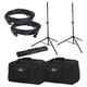Gator Complete 12-Inch Powered Speakers Accessory Pack