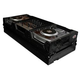 ProX Black DJ Coffin Case for 4 Ch Mixer and 2x CD