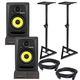 KRK RP5 G3 Powered Studio Monitors with Stands & Isolation Pads