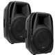 American Audio ELS15BT Powered Bluetooth Speakers Pair