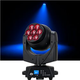 ADJ American DJ Vizi Q Wash7 7x40-Watt RGBW LED Moving Head Light