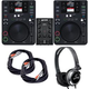Gemini Complete DJ System with CDJ-650 Tabletop Players and MM1 Mixer